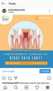 Perawatan saluran akar gigi atau endodontik